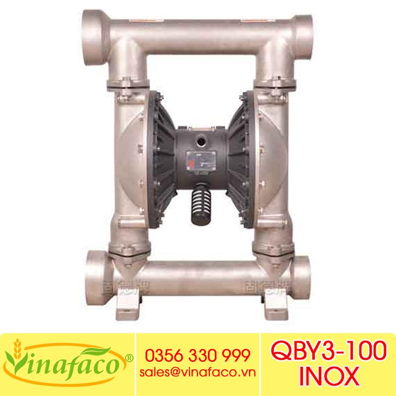 Bơm màng khí nénGODO QBY3-100 INOX