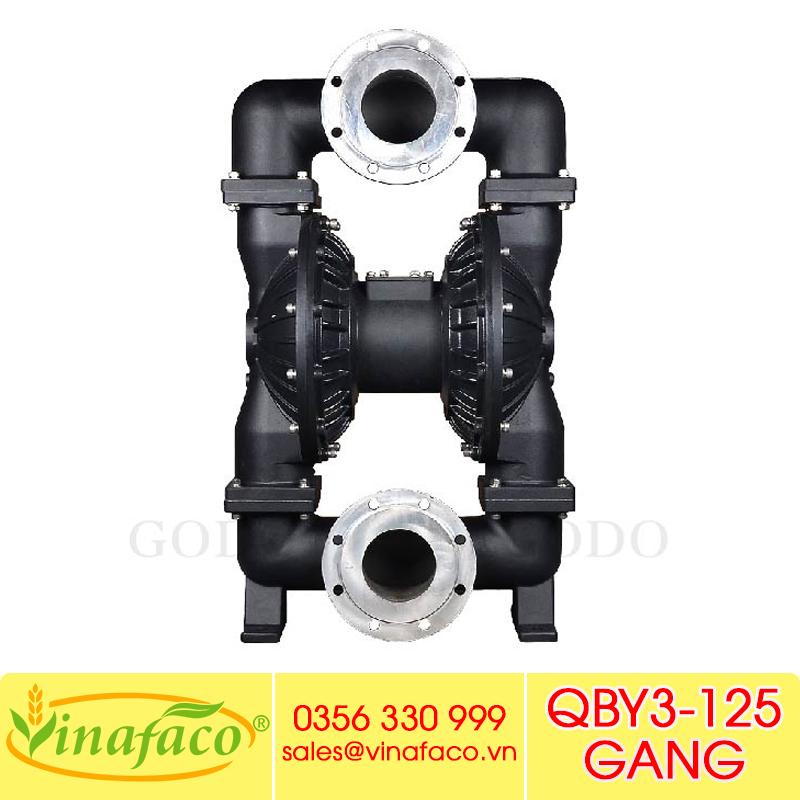 Bơm màng khí nénGODO QBY3-125 GANG