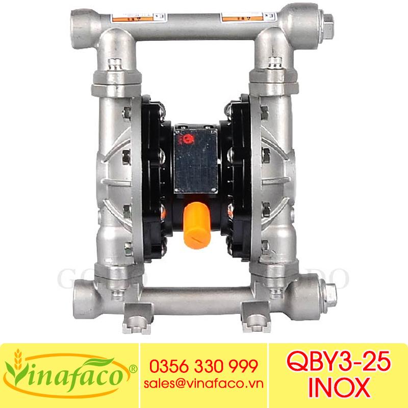 Bơm màng khí nénGODO QBY3-25 INOX