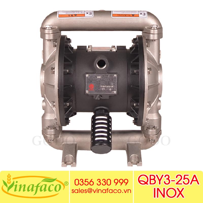 Bơm màng khí nénGODO QBY3-25A INOX