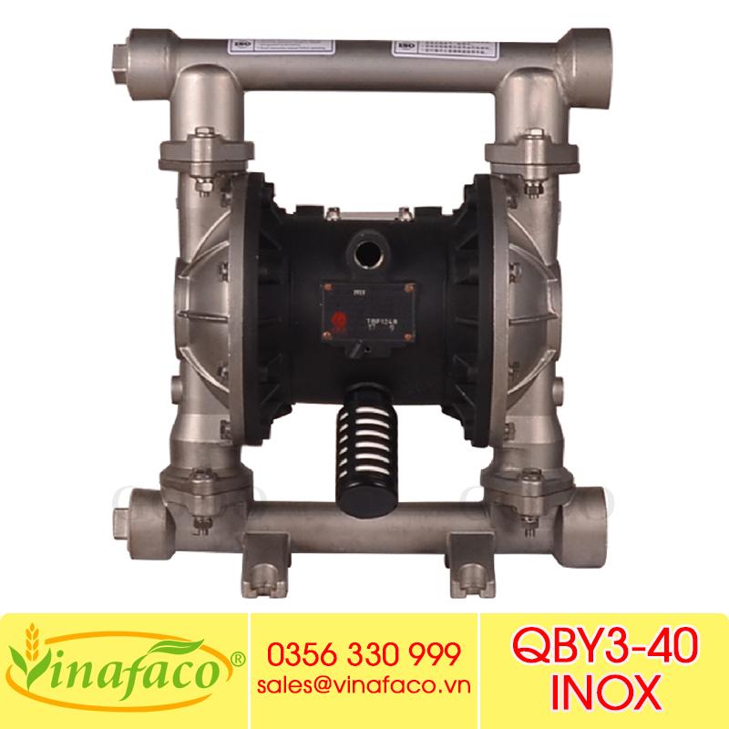 Bơm màng khí nén Godo QBY3-40 INOX