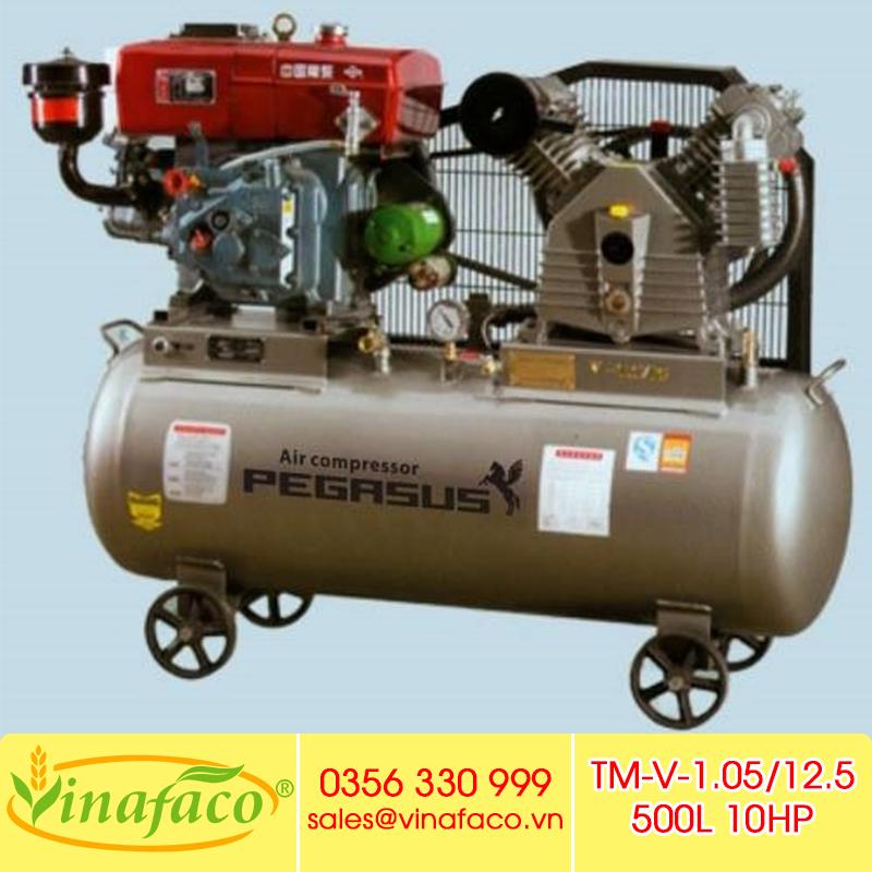 Máy Nén Khí Chạy Dầu Diesel Pegasus TM-V-1.0/12.5-500L