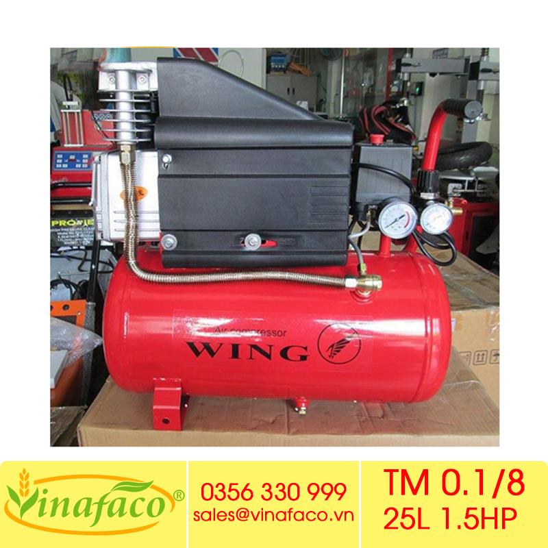 Máy Nén Khí Đầu Liền Wing TM 0.1/8 25L