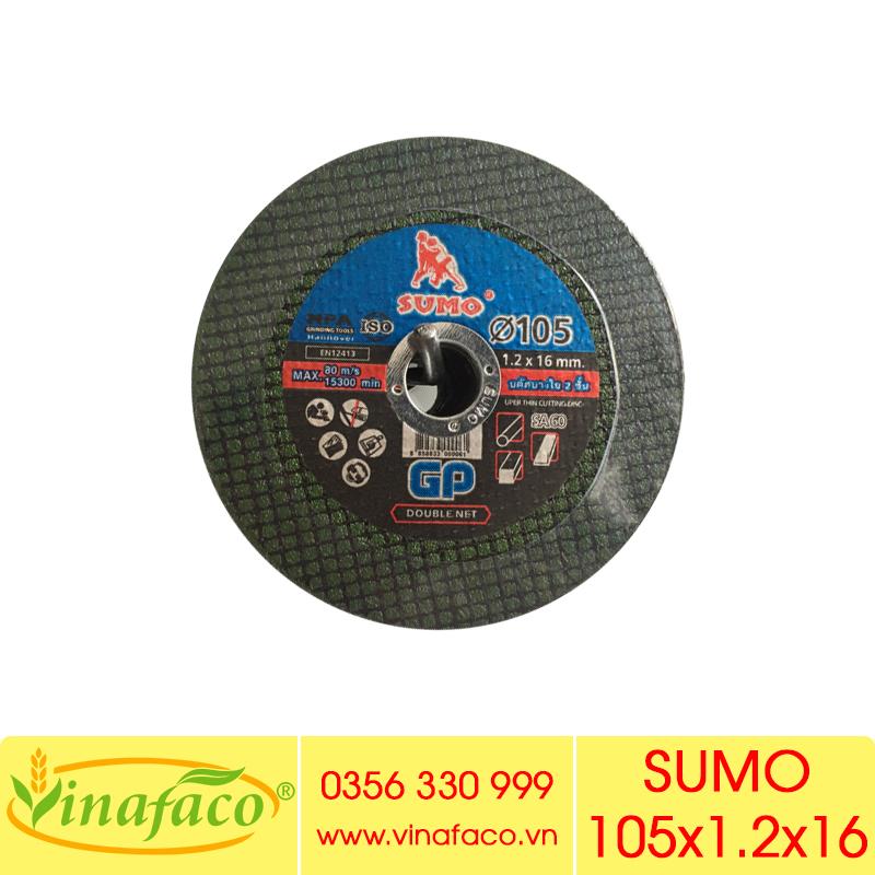 Đá Cắt Sắt SUMO 105mm