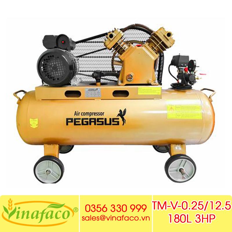 Máy Nén Khí Pegasus TM-V-0.25/12.5 180L