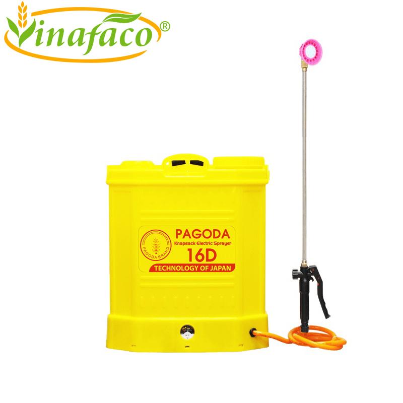 Máy xịt thuốc phun sương chạy điện PAGODA 16